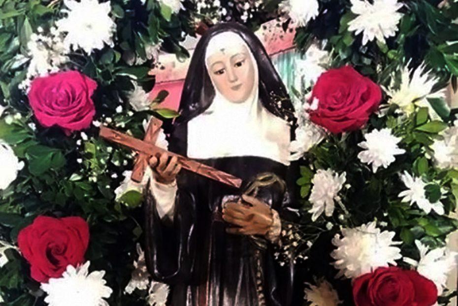 La Verdadera Historia De Santa Rita De Casia El Chorrillero