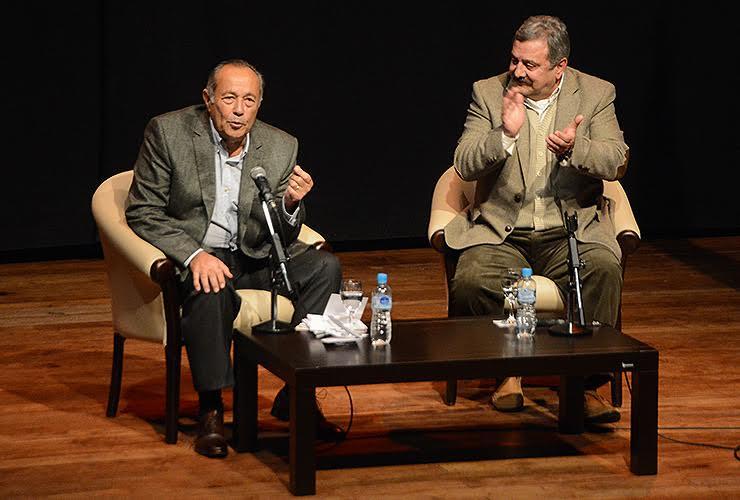 El senador Adolfo Rodríguez Saá llegó con el mensaje del Frente Unidad Justicialista a la UNSL.