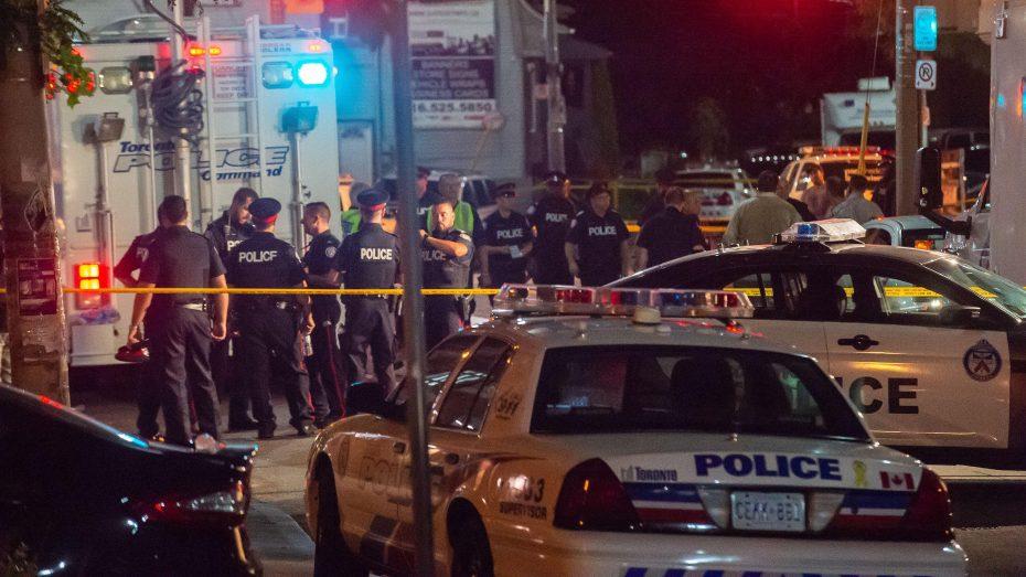 Image result for Tiroteo en Toronto deja tres muertos y 12 personas heridas