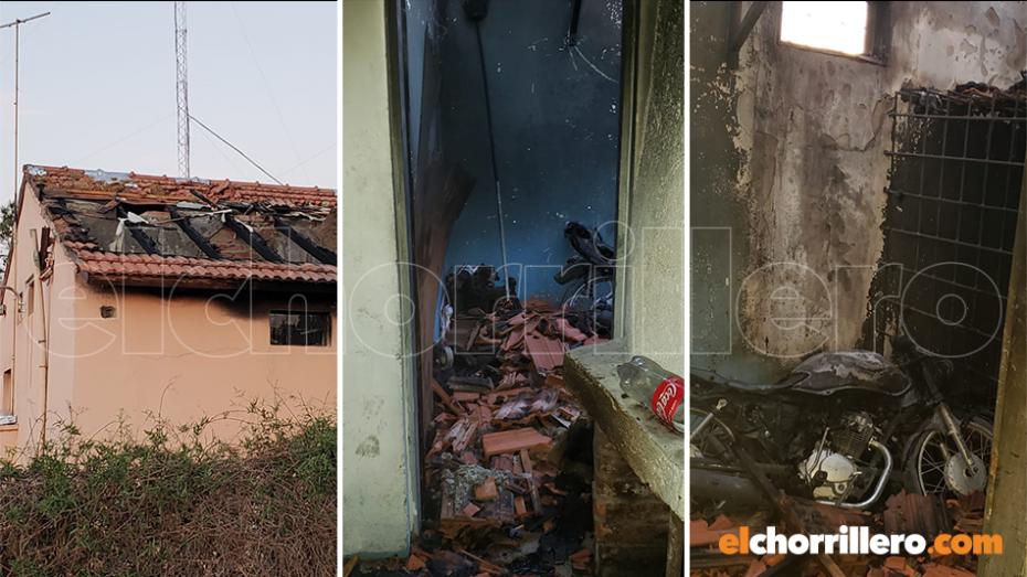 El incendio y la explosión en la comisaría de La Calera causó la muerte de un detenido por disturbios en un baile.