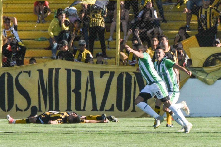 Estudiantes ganó en Puerto Madryn.