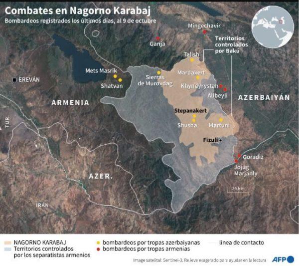 El contexto económico del conflicto de Nagorno Karabaj – El Chorrillero